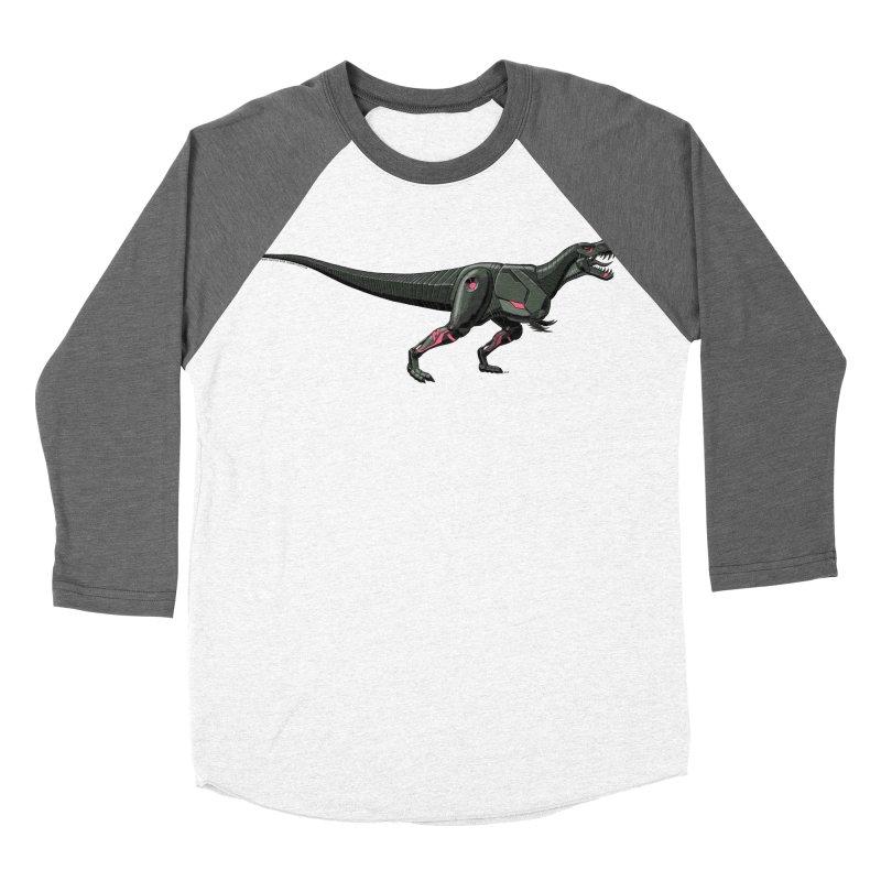 Robosaurus-Rex Women's Baseball Triblend Longsleeve T-Shirt by The Transypoo Tee Shirt Shop!