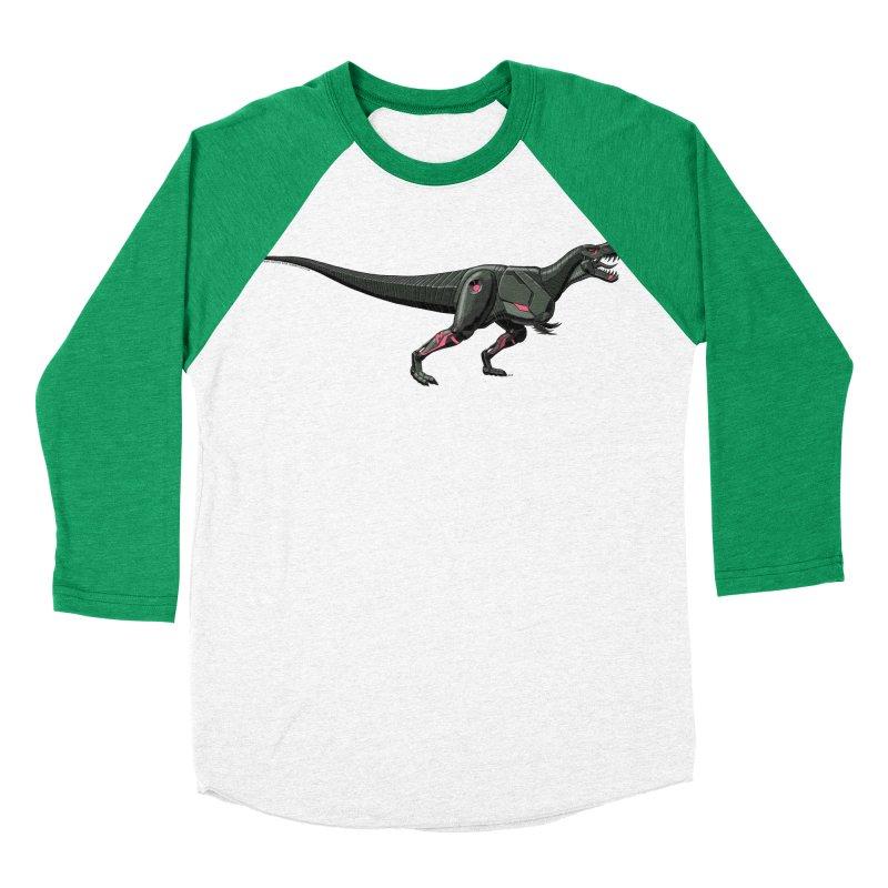 Robosaurus-Rex Men's Baseball Triblend Longsleeve T-Shirt by The Transypoo Tee Shirt Shop!