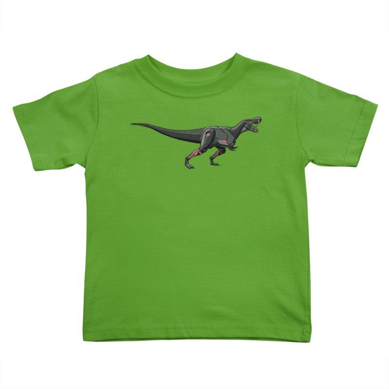 Robosaurus-Rex Kids Toddler T-Shirt by The Transypoo Tee Shirt Shop!