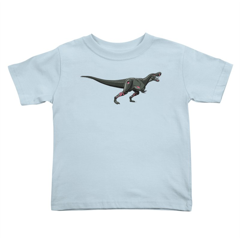 Robosaurus-Rex Kids Toddler T-Shirt by The Transypoo Tee Shirt Shop!