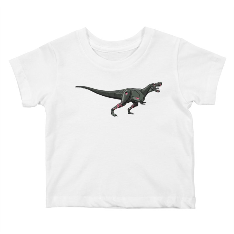 Robosaurus-Rex Kids Baby T-Shirt by The Transypoo Tee Shirt Shop!