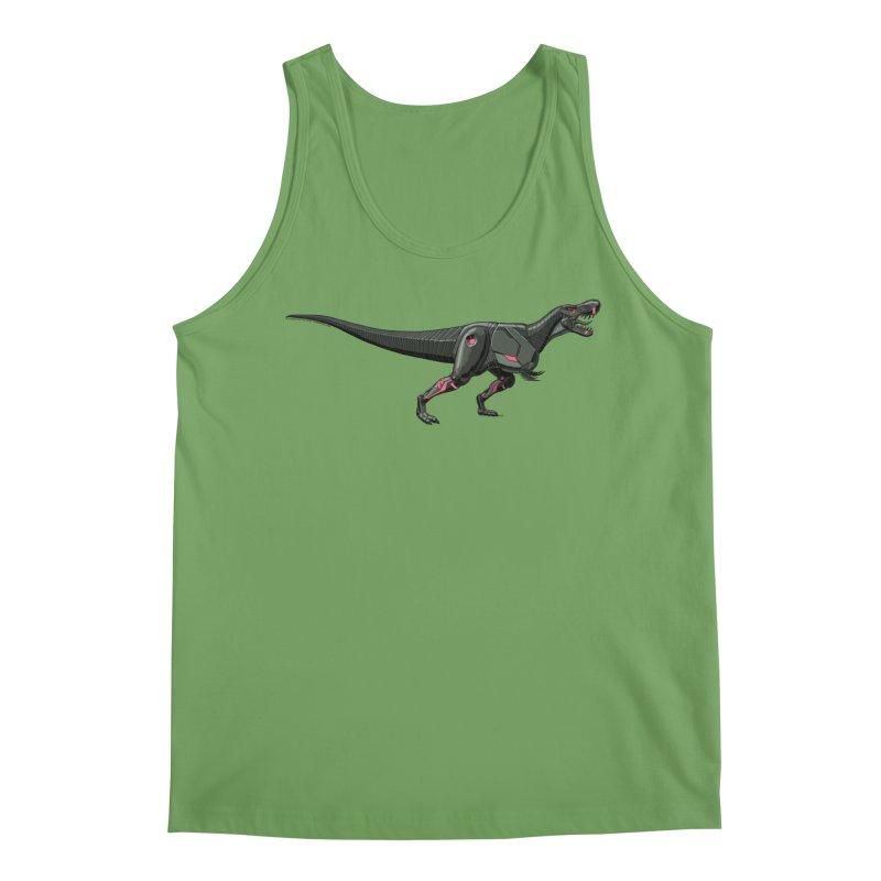 Robosaurus-Rex Men's Tank by The Transypoo Tee Shirt Shop!
