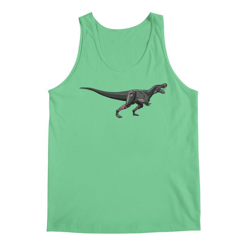 Robosaurus-Rex Men's Regular Tank by The Transypoo Tee Shirt Shop!