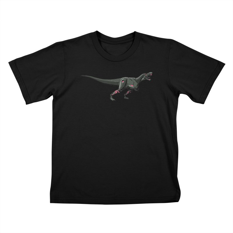 Robosaurus-Rex Kids T-Shirt by The Transypoo Tee Shirt Shop!