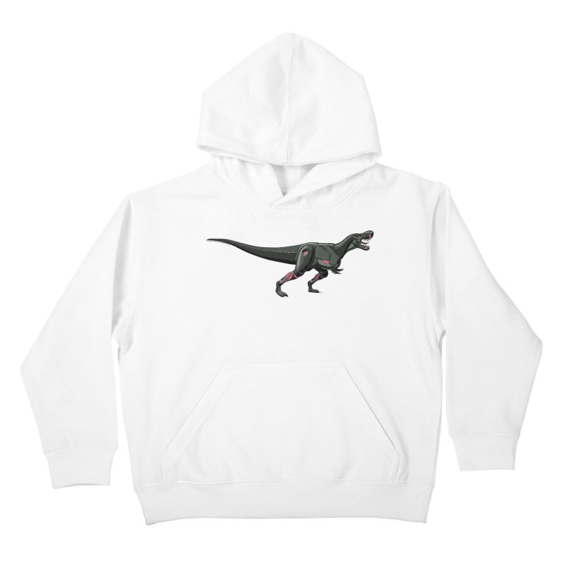 Robosaurus-Rex Kids Pullover Hoody by The Transypoo Tee Shirt Shop!