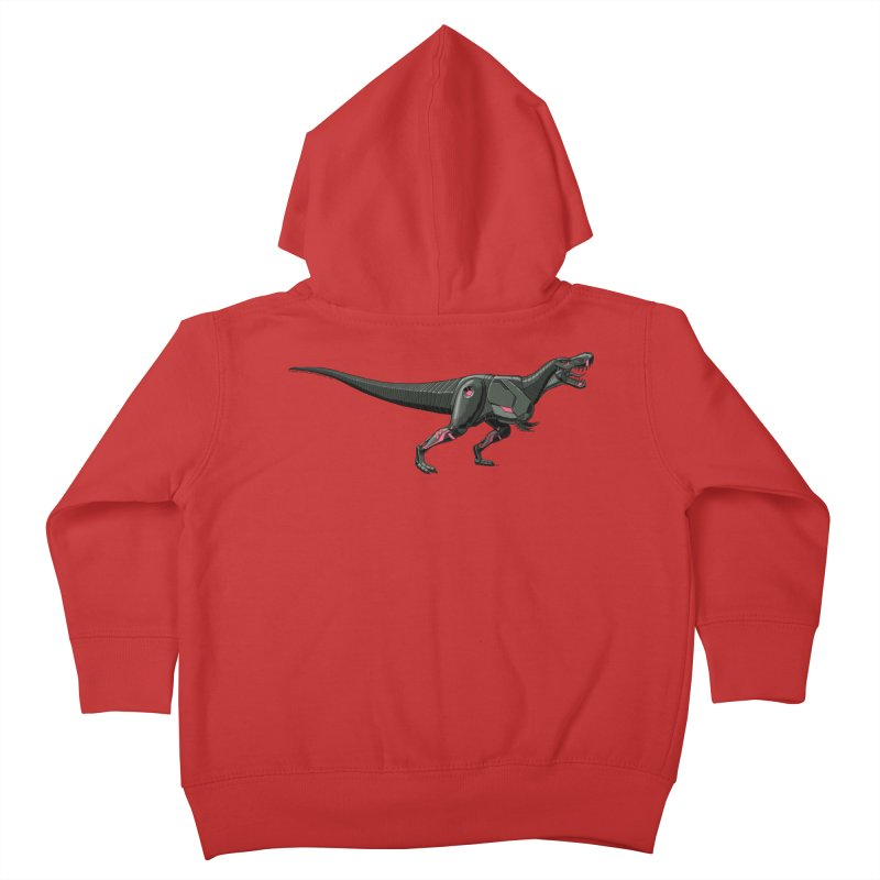 Robosaurus-Rex Kids Toddler Zip-Up Hoody by The Transypoo Tee Shirt Shop!