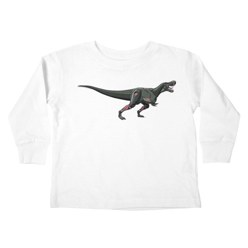 Robosaurus-Rex Kids Toddler Longsleeve T-Shirt by The Transypoo Tee Shirt Shop!