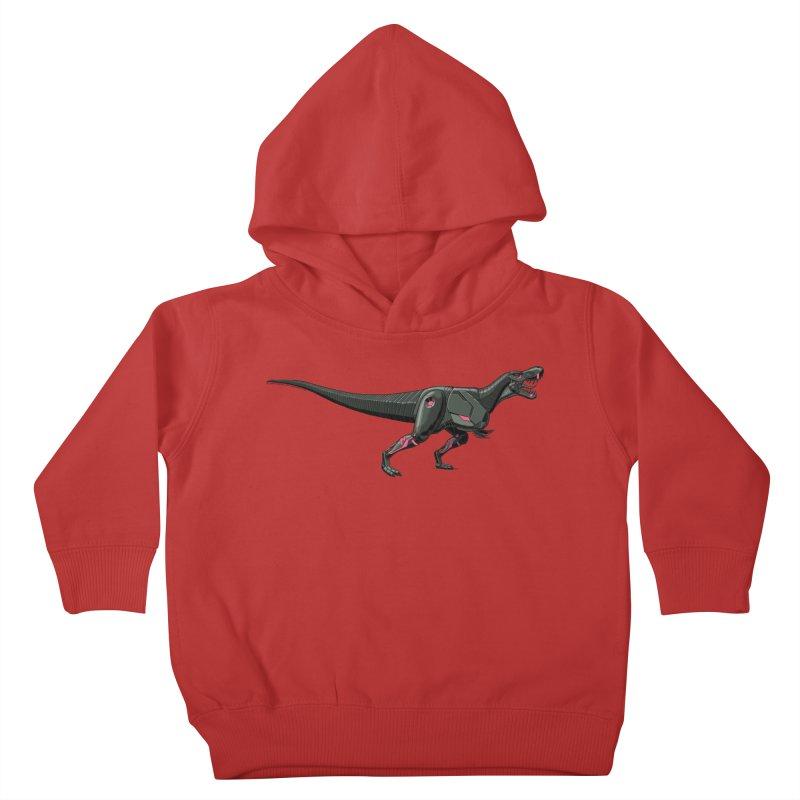 Robosaurus-Rex Kids Toddler Pullover Hoody by The Transypoo Tee Shirt Shop!