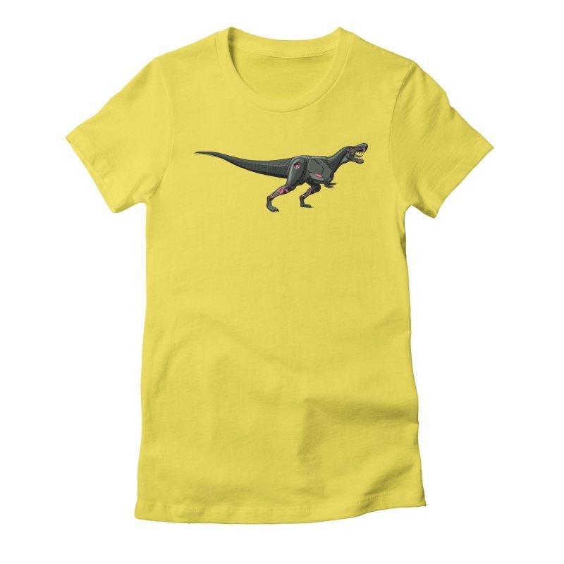 Robosaurus-Rex Women's Fitted T-Shirt by The Transypoo Tee Shirt Shop!