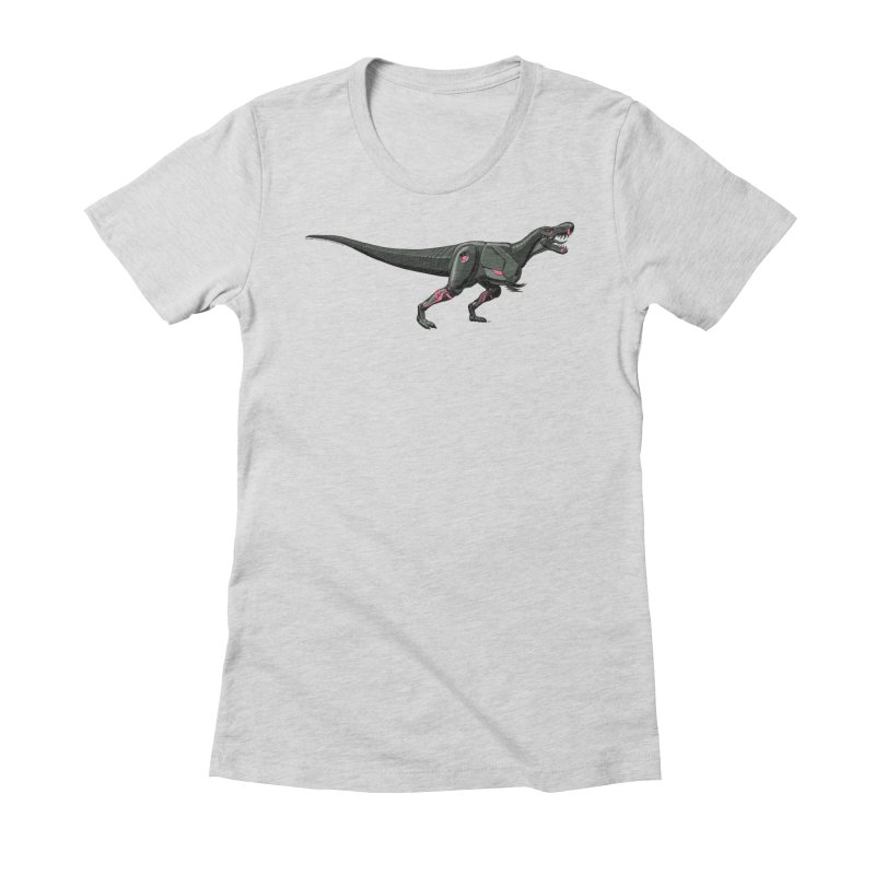 Robosaurus-Rex Women's Fitted T-Shirt by The Transypoo Tee Shirt Shop!