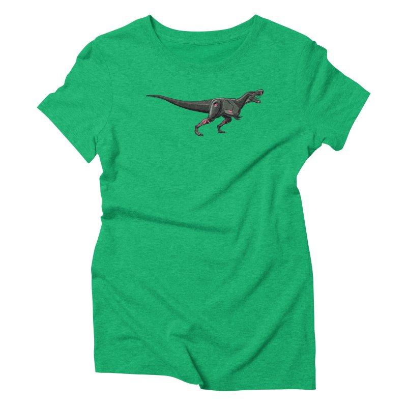 Robosaurus-Rex Women's Triblend T-Shirt by The Transypoo Tee Shirt Shop!