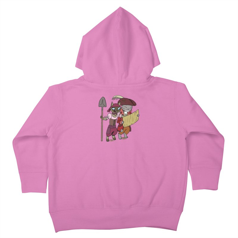 Pirates of the Cat-ribbean Sticker Kids Toddler Zip-Up Hoody by The Transypoo Tee Shirt Shop!