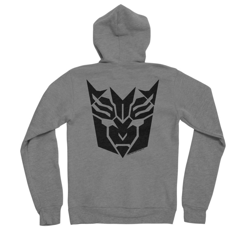 Mysterious Robot Faction Men's Zip-Up Hoody by The Transypoo Tee Shirt Shop!