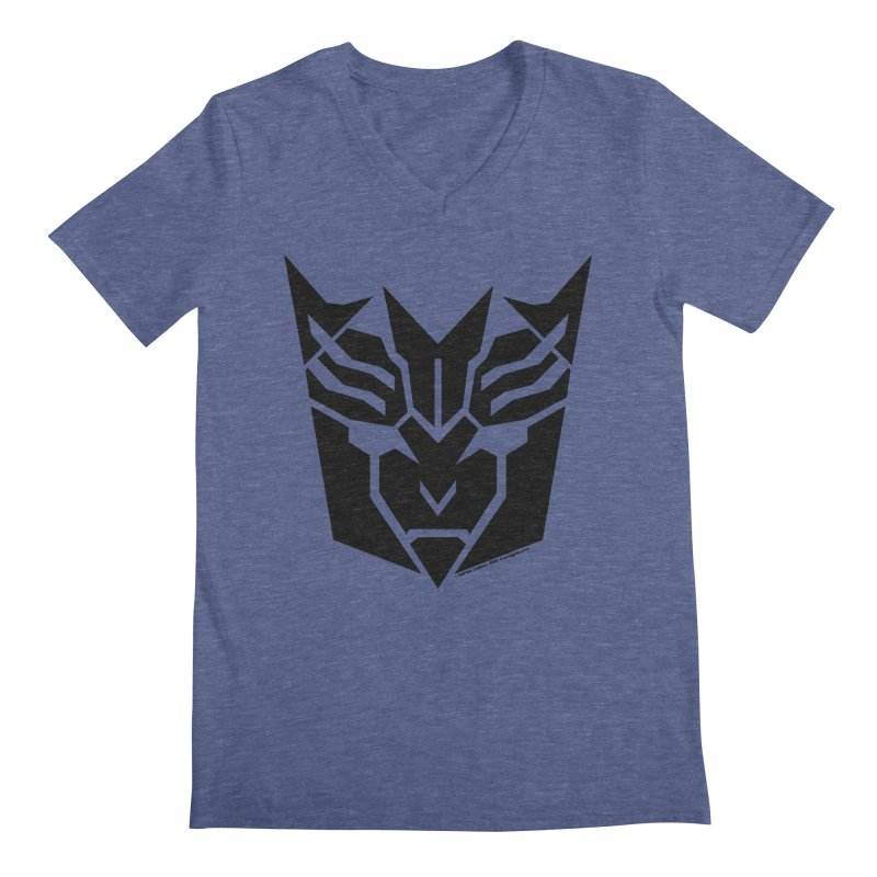 Mysterious Robot Faction Men's V-Neck by The Transypoo Tee Shirt Shop!