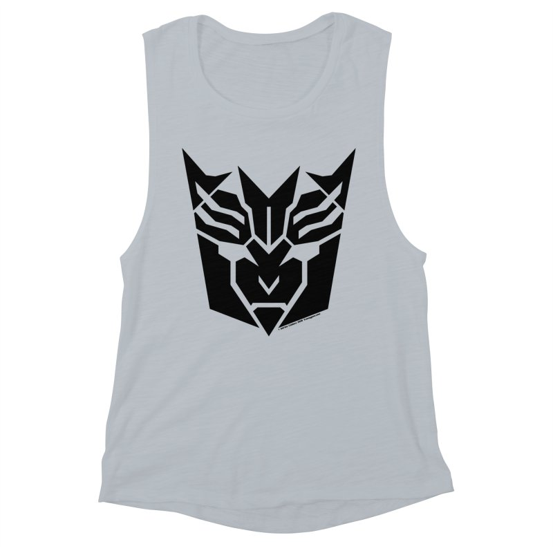 Mysterious Robot Faction Women's Muscle Tank by The Transypoo Tee Shirt Shop!