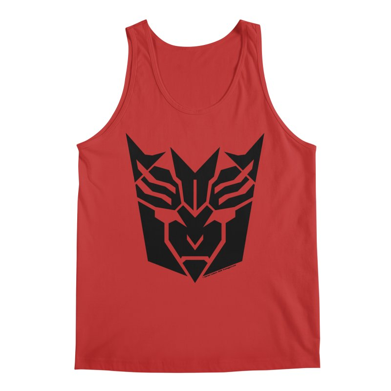 Mysterious Robot Faction Men's Tank by The Transypoo Tee Shirt Shop!