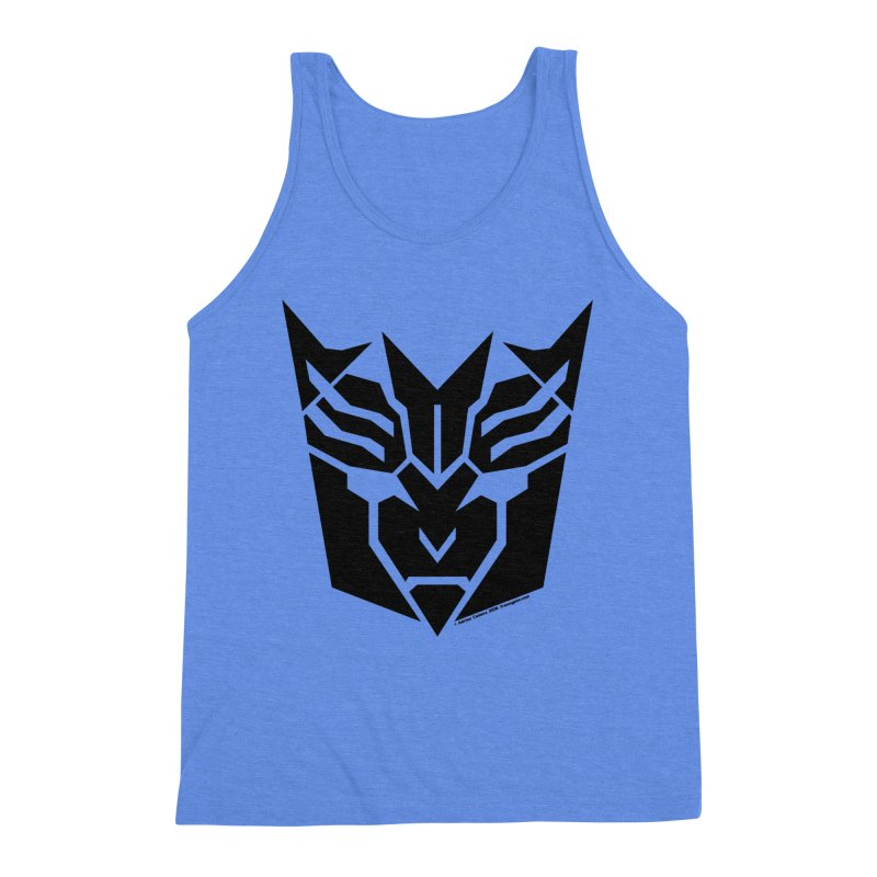 Mysterious Robot Faction Men's Triblend Tank by The Transypoo Tee Shirt Shop!