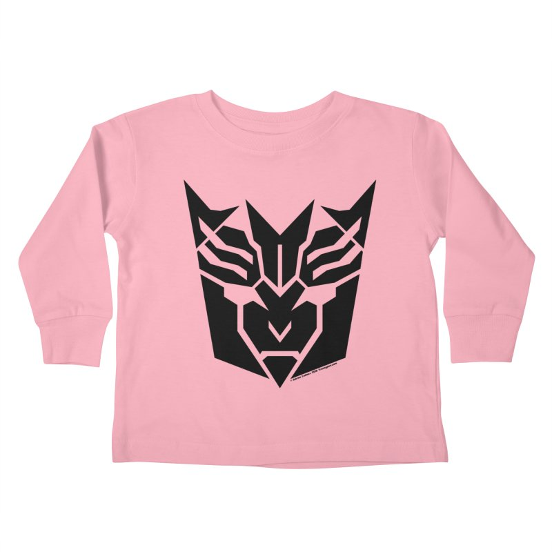 Mysterious Robot Faction Kids Toddler Longsleeve T-Shirt by The Transypoo Tee Shirt Shop!