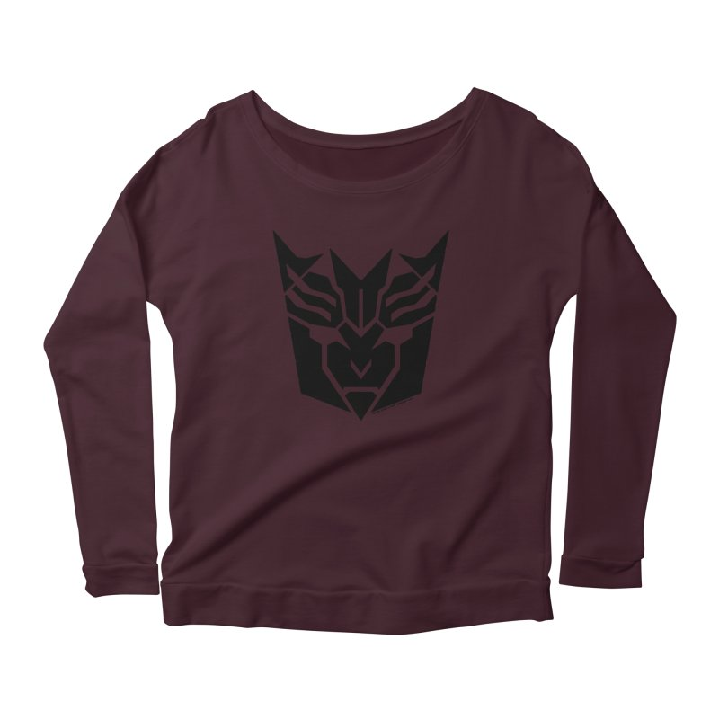 Mysterious Robot Faction Women's Scoop Neck Longsleeve T-Shirt by The Transypoo Tee Shirt Shop!