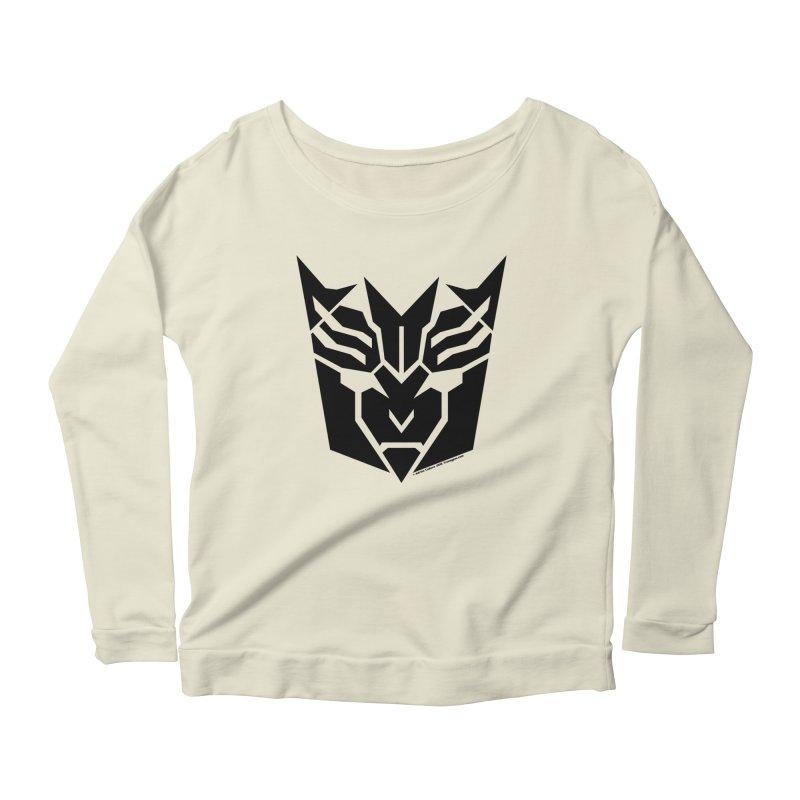 Mysterious Robot Faction Women's Scoop Neck Longsleeve T-Shirt by The Transypoo Tee Shirt Shop!