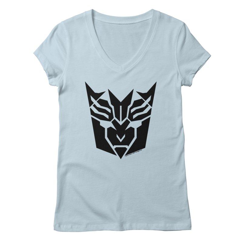 Mysterious Robot Faction Women's Regular V-Neck by The Transypoo Tee Shirt Shop!
