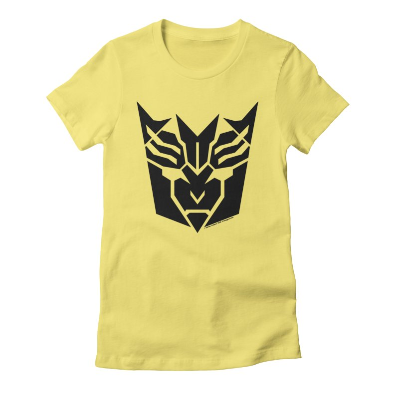 Mysterious Robot Faction Women's Fitted T-Shirt by The Transypoo Tee Shirt Shop!