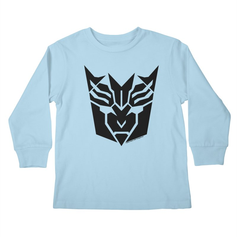 Mysterious Robot Faction Kids Longsleeve T-Shirt by The Transypoo Tee Shirt Shop!