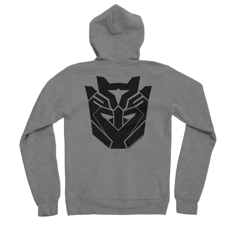 Silenced Robot Faction Women's Sponge Fleece Zip-Up Hoody by The Transypoo Tee Shirt Shop!