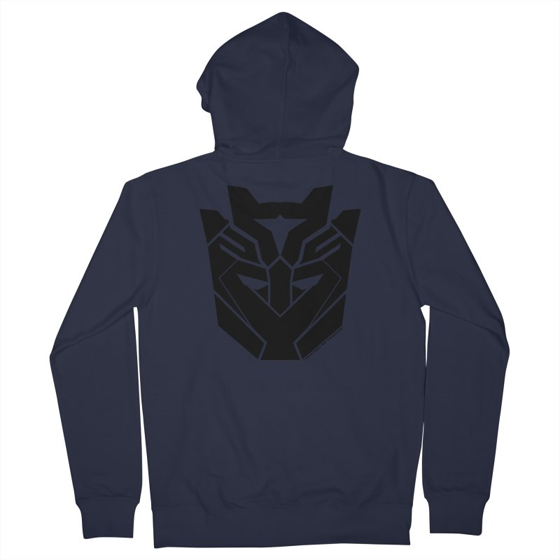 Silenced Robot Faction Women's French Terry Zip-Up Hoody by The Transypoo Tee Shirt Shop!