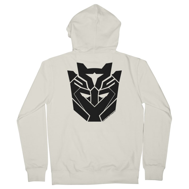 Silenced Robot Faction Men's French Terry Zip-Up Hoody by The Transypoo Tee Shirt Shop!