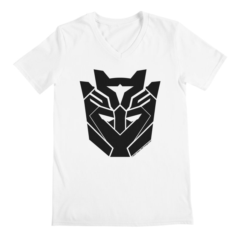 Silenced Robot Faction Men's V-Neck by The Transypoo Tee Shirt Shop!