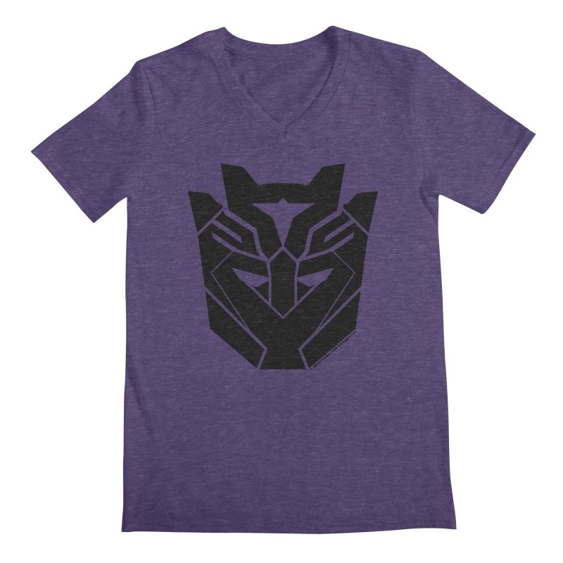 Silenced Robot Faction Men's Regular V-Neck by The Transypoo Tee Shirt Shop!