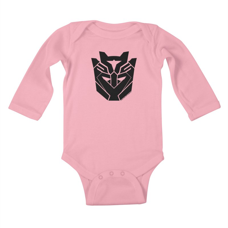 Silenced Robot Faction Kids Baby Longsleeve Bodysuit by The Transypoo Tee Shirt Shop!