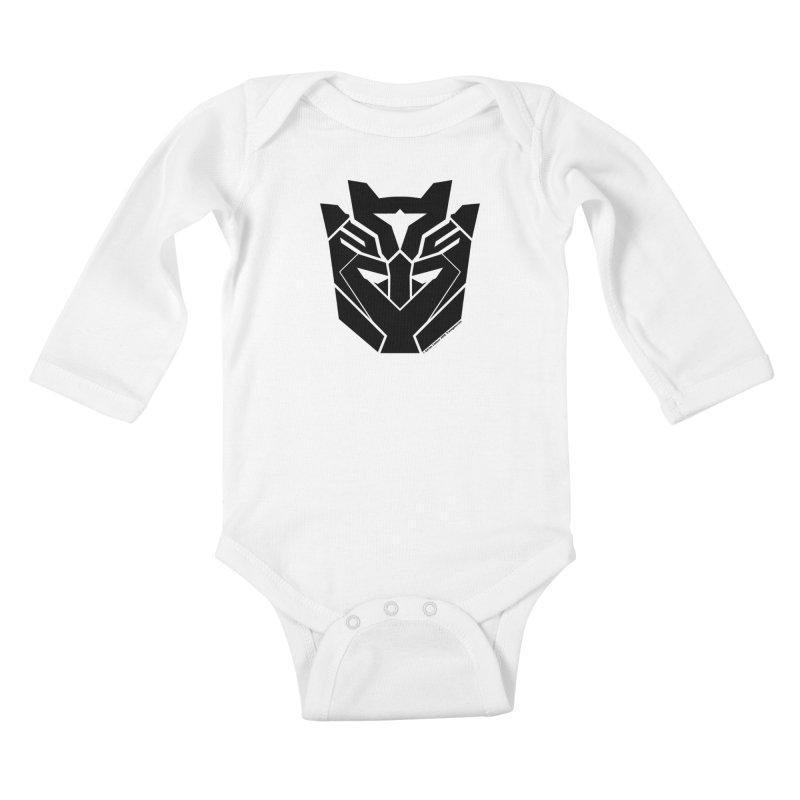 Silenced Robot Faction Kids Baby Longsleeve Bodysuit by The Transypoo Tee Shirt Shop!