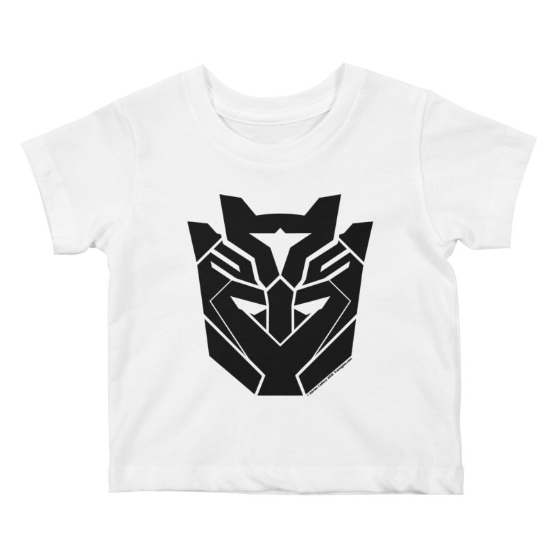 Silenced Robot Faction Kids Baby T-Shirt by The Transypoo Tee Shirt Shop!