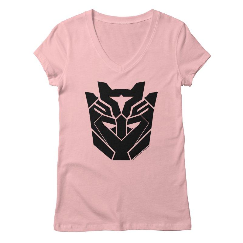 Silenced Robot Faction Women's V-Neck by The Transypoo Tee Shirt Shop!