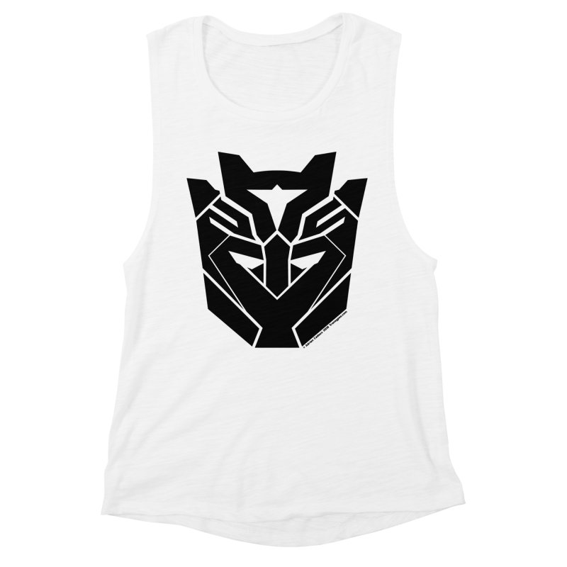 Silenced Robot Faction Women's Muscle Tank by The Transypoo Tee Shirt Shop!