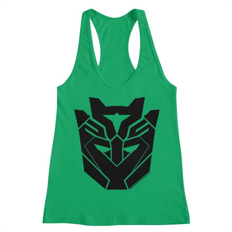 Silenced Robot Faction Women's Tank by The Transypoo Tee Shirt Shop!