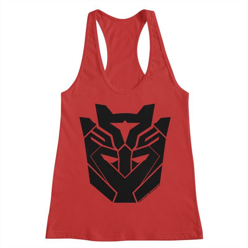 Silenced Robot Faction Women's Racerback Tank by The Transypoo Tee Shirt Shop!