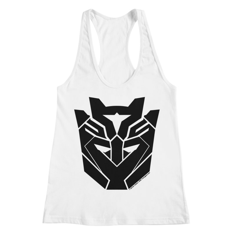 Silenced Robot Faction Women's Racerback Tank by The Transypoo Tee Shirt Shop!