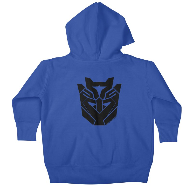 Silenced Robot Faction Kids Baby Zip-Up Hoody by The Transypoo Tee Shirt Shop!