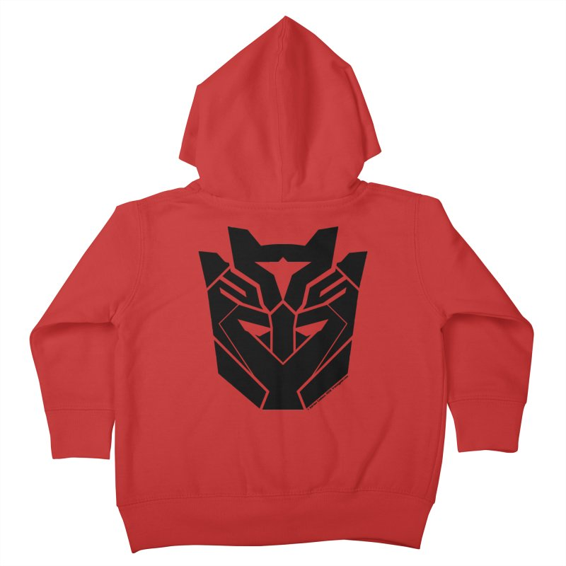 Silenced Robot Faction Kids Toddler Zip-Up Hoody by The Transypoo Tee Shirt Shop!