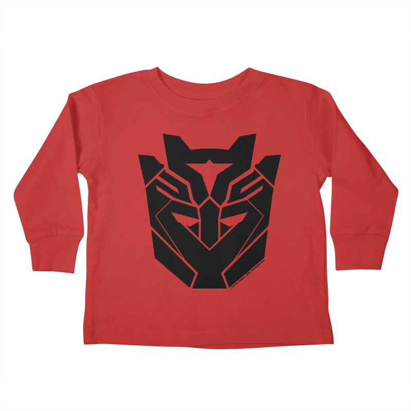 Silenced Robot Faction Kids Toddler Longsleeve T-Shirt by The Transypoo Tee Shirt Shop!