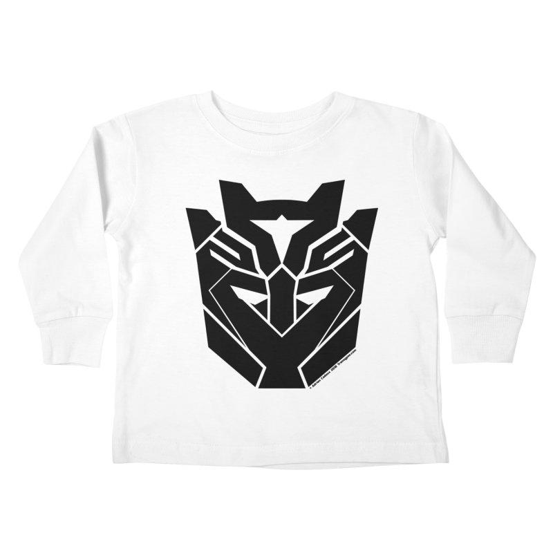 Silenced Robot Faction Kids Toddler Longsleeve T-Shirt by The Transypoo Tee Shirt Shop!