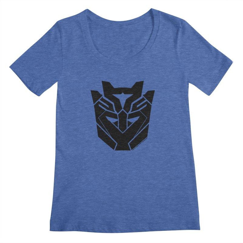 Silenced Robot Faction Women's Regular Scoop Neck by The Transypoo Tee Shirt Shop!