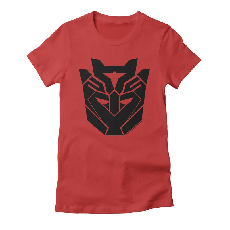 Silenced Robot Faction Women's Fitted T-Shirt by The Transypoo Tee Shirt Shop!
