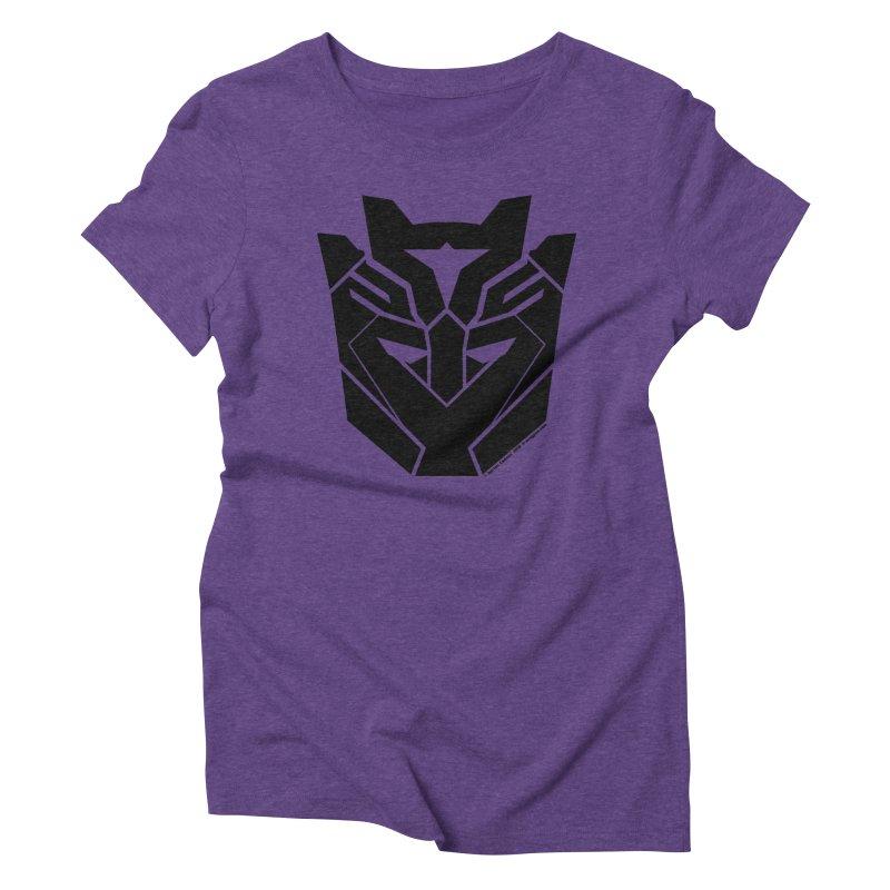 Silenced Robot Faction Women's Triblend T-Shirt by The Transypoo Tee Shirt Shop!