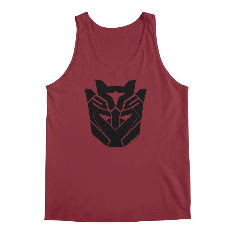Silenced Robot Faction Men's Regular Tank by The Transypoo Tee Shirt Shop!