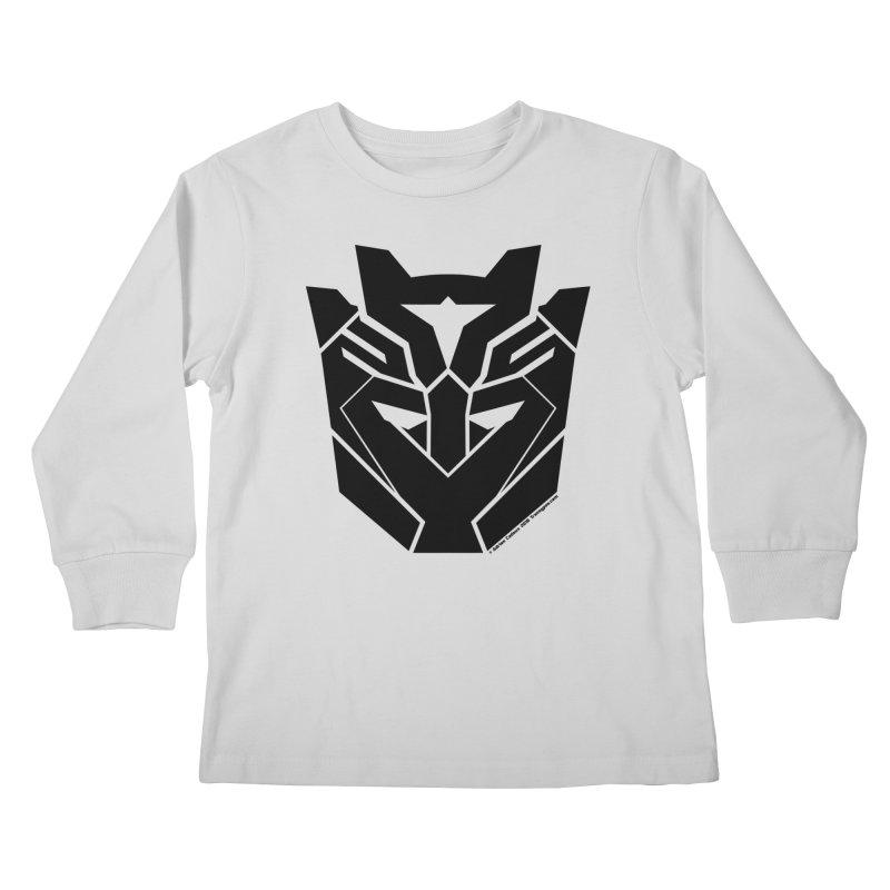 Silenced Robot Faction Kids Longsleeve T-Shirt by The Transypoo Tee Shirt Shop!