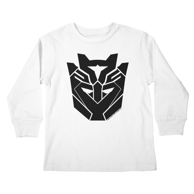 Silenced Robot Faction Kids Longsleeve T-Shirt by The Transypoo Tee Shirt Shop!
